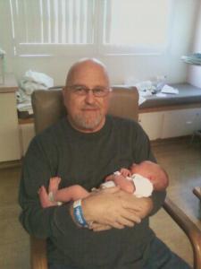 Noah and Grandpa Chuck